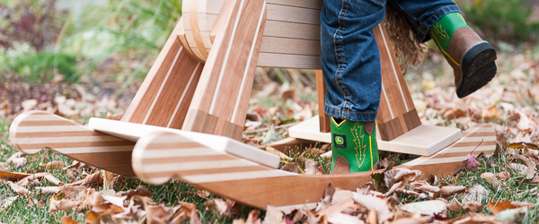 This is my submission to Clickin Moms for week 39: Details in the Overlooked. I love the lines on the rocking horse and the John Deere logo doesn't hurt either!