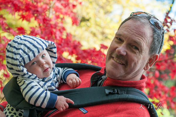 With Kane at 11 months.