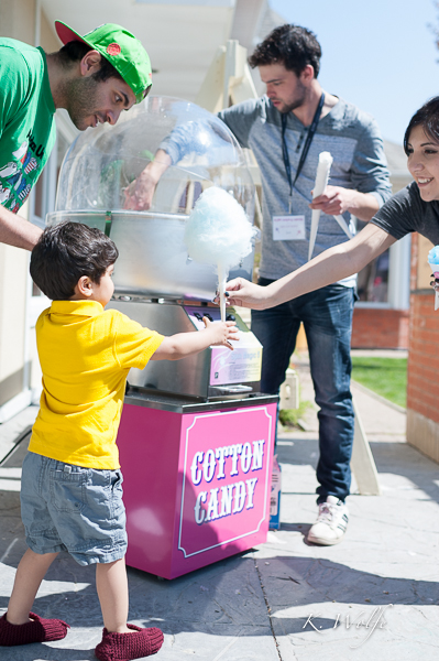 KDM Management also donated a cotton candy machine and a snow cone set-up to the house. Both were in full swing on Saturday afternoon!