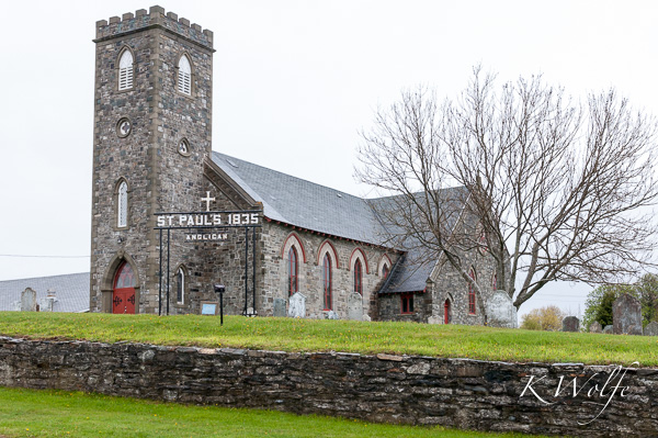 Anglican church in Harbour Grace.