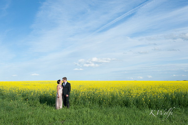 My first canola field photos!